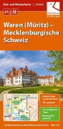 Christian Kuhlmann: Waren (Müritz) – Mecklenburgische Schweiz 1 : 50 000 Rad- und Wanderkarte, Diverse