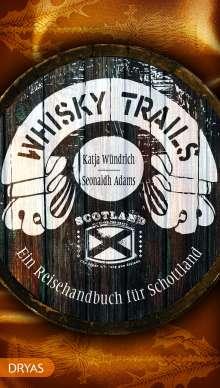 Seonaidh Adams: Whisky Trails Schottland, Buch