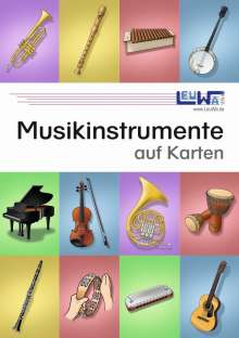 Martin Leuchtner: Musikinstrumente auf Karten, Buch