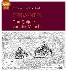 Miguel de Cervantes Saavedra: Don Quijote von der Mancha, 4 CDs