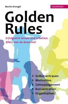 Martin Krengel: Golden Rules, Buch