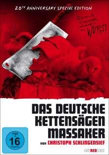 Das deutsche Kettensägenmassaker (Special Edition), 2 DVDs