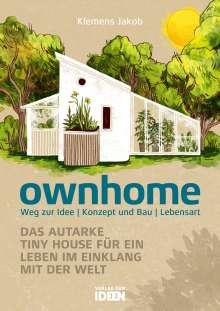 Klemens Jakob: ownhome, Buch