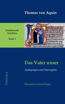Thomas von Aquin: Das Vater unser, Buch