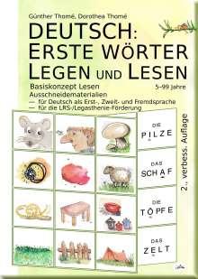 Günther Thomé: Deutsch: Erste Wörter Legen Und Lesen, Buch