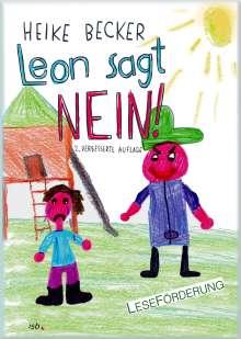 Heike Becker: Leon sagt NEIN!, Buch