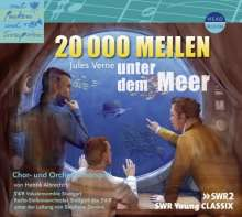 Jules Verne: 20 000 Meilen unter dem Meer, CD
