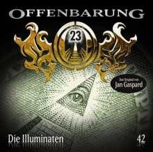 Jan Gaspard: Offenbarung 23 - Folge 42: Die Illuminaten, CD