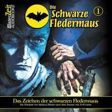 G. W. Jones: Die Schwarze Fledermaus 01. Das Zeichen der schwarzen Fledermaus, CD