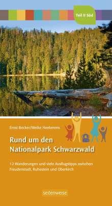 Ernst Becker: Rund um den Nationalpark Schwarzwald Teil II Süd, Buch