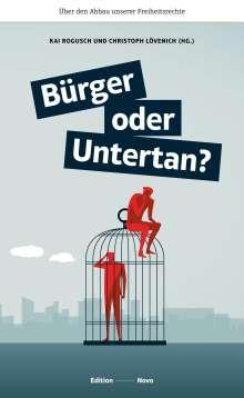 Bürger oder Untertan?, Buch