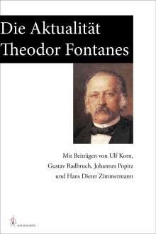 Ulf Korn: Die Aktualität Theodor Fontanes, Buch