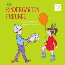 Vicky Bo: Vicky Bo's Kindergartenfreundebuch: Meine Kindergartenfreunde - Freundschaftsbuch & Erinnerungsalbum, Buch