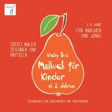 Vicky Bo: Vicky Bo's Malbuch für Kinder ab 2 Jahren, Buch