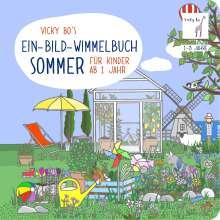 Vicky Bo: Ein-Bild-Wimmelbuch für Kinder ab 1 Jahr - Sommer, Buch