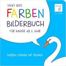 Vicky Bo: Farben-Bilderbuch für Kinder ab 1 Jahr, Buch