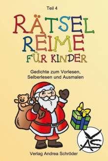 Andrea Schröder: Rätsel-Reime für Kinder, Buch