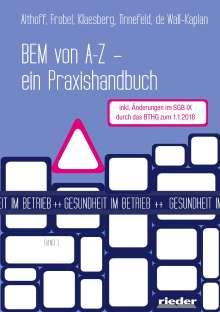 Sandra Frobel: BEM von A - Z, Buch