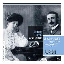 Bernd-Volker Brahms: Stolperstein-Geschichten Aurich, Buch