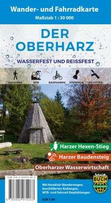 Der Oberharz Wander- und Fahrradkarte 1 : 30 000, Diverse