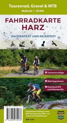 Fahrradkarte Harz 1 : 50 000, Diverse