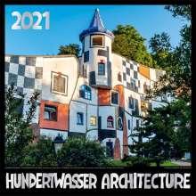 Hundertwasser Broschürenkalender Architektur 2021, Diverse