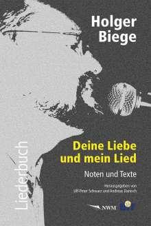 Holger Biege Liederbuch, inkl. CD mit 18 Titeln, Buch