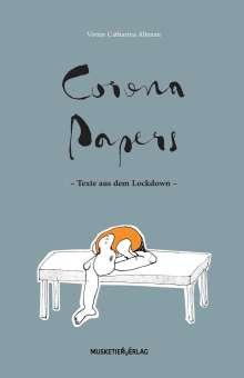 Vivien Catharina Altenau: Corona Papers, Buch