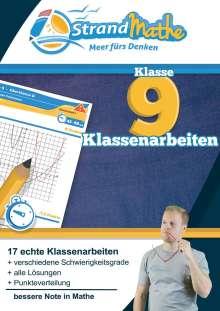 Conrad Zimmermann: Mathematik Klassenarbeitstrainer Klasse 9 - StrandMathe, Buch
