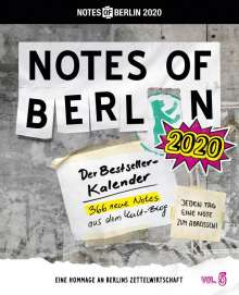 Notes of Berlin 2020, Diverse