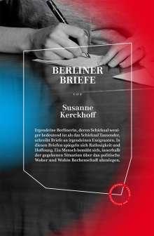 Susanne Kerckhoff: Berliner Briefe, Buch