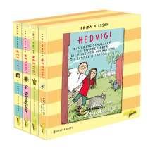 Frida Nilsson: Hedvig! Die große Geschenkbox, 11 CDs