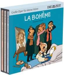 ZEIT Edition: Große Oper für kleine Hörer Set 2 (3 Opernhörspiele mit Musik), 3 CDs