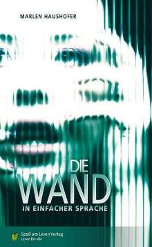 Marlen Haushofer: Die Wand, Buch