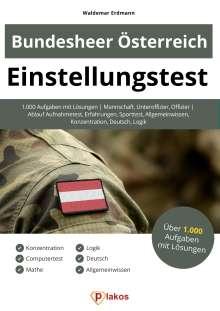 Waldemar Erdmann: Einstellungstest Bundesheer Österreich, Buch