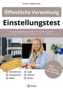 Waldemar Erdmann: Einstellungstest Öffentliche Verwaltung, Buch