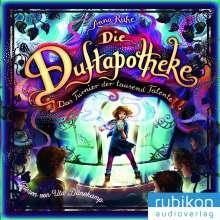 Anna Ruhe: Die Duftapotheke (4). Das Turnier der tausend Talente, MP3-CD