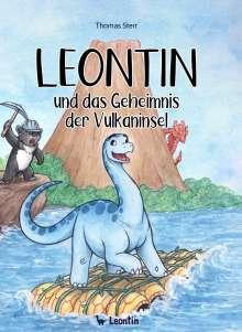 Thomas Sterr: Leontin und das Geheimnis der Vulkaninsel, Buch