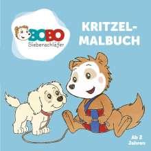 Jep Animation: Bobo Siebenschläfer Kritzelmalbuch - ab 2 Jahren, Buch