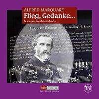 Alfred Marquart: Flieg, Gedanke, 3 MP3-CDs