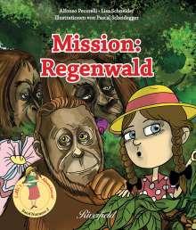 Alfonso Pecorelli: Mission: Regenwald, Buch