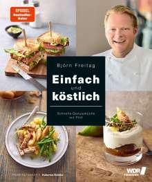 Björn Freitag: Einfach und köstlich, Buch