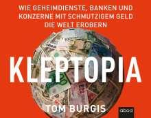 Tom Burgis: Kleptopia, CD