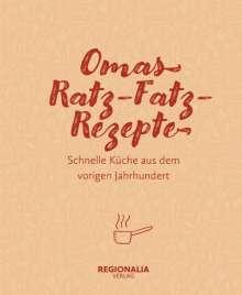 Omas Ratz-Fatz-Rezepte, Buch