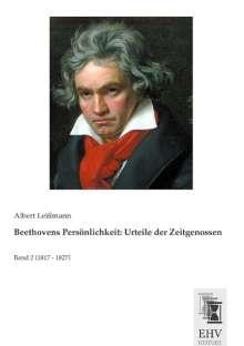 Beethovens Persönlichkeit: Urteile der Zeitgenossen, Buch
