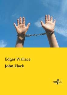Edgar Wallace: John Flack, Buch