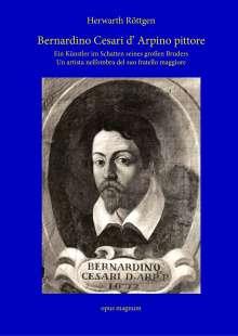 Herwarth Röttgen: Bernardino Cesari d' Arpino pittore, Buch
