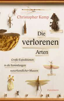 Christopher Kemp: Die verlorenen Arten, Buch