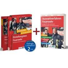 Kurt Guth: Sparpaket - Einstellungstest + Auswahlverfahren Feuerwehr, 2 Bücher