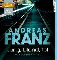 Andreas Franz: Jung, blond, tot, MP3-CD